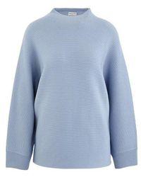 Dries Van Noten Woolen Sweatshirt - Blue
