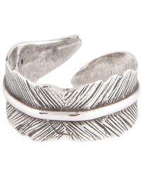 Gas Bijoux Penna Ring - Metallic