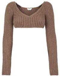 Fendi Sweater - Brown