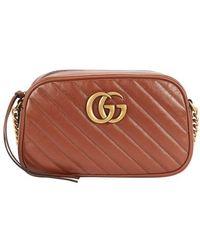 Gucci - Petit sac à épaule GG Marmont - Lyst