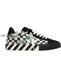 Off-White c/o Virgil Abloh Sneakers Low Vulcanized Canvas - Noir