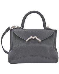 Moynat Mini Gaby Handbag - Black