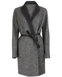 Loro Piana Alpaca Wool Coat - Grey