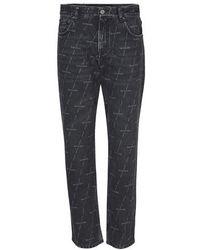 Balenciaga Regular Jeans - Black