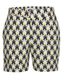 Frescobol Carioca Parquet Swim Shorts - Multicolor