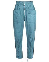 Isabel Marant Pantalon Tilsen - Bleu