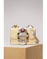 Miu Miu - Miu Lady Straw Bag - Lyst