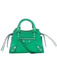 Balenciaga Mini sac Neo Classic City - Vert