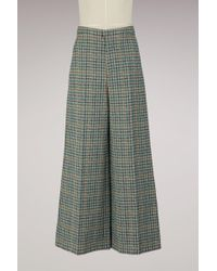 Isabel Marant - Trevi Cotton Trousers - Lyst