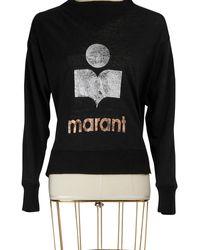 Étoile Isabel Marant Linen Kilian T-shirt - Black