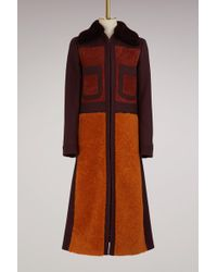 Anya Hindmarch - Wool Long 70s Coat - Lyst
