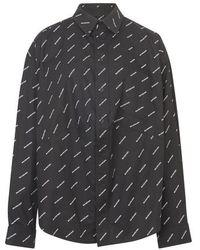 Balenciaga Swing Masculin Shirt - Gray