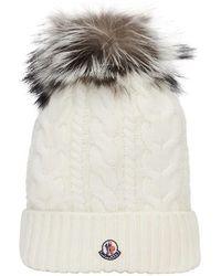 Moncler Hut - Weiß