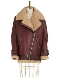 Acne Studios Velocite Shearling Jacket - Multicolor
