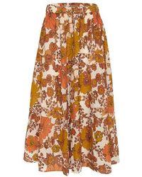Dodo Bar Or Marina Skirt - Orange
