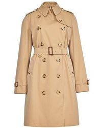 Burberry Kensington Trench - Natural