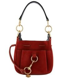 See By Chloé Tony Small Bucket Bag - Red