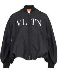 Valentino - Vltn Bomber Jacket - Lyst