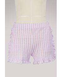 Roseanna - Mika Cotton Shorts - Lyst