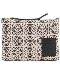 Loewe Anagram Pouch - Multicolour
