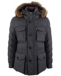 Moncler Augert Winter Jacket - Gray