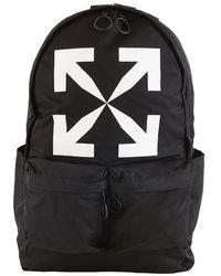 Off-White c/o Virgil Abloh Logo Backpack Black