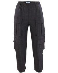 Prada Cargo Trousers - Grey