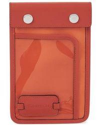 JW Anderson Pulley Clutch Bag - Orange