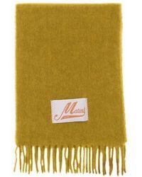 Marni Schal aus gebürstetem Alpaka - Mehrfarbig