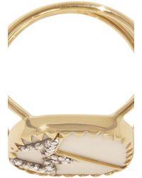 Pascale Monvoisin Varda N°2 Ring - Metallic