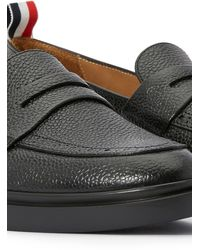 Thom Browne Penny Loafers - Black