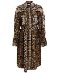 Burberry Robe Constanza 126 - Marron