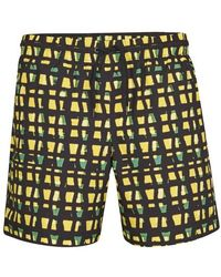 Dries Van Noten Phibbs Swimwear - Yellow