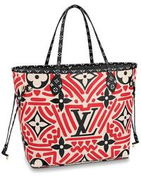 Louis Vuitton Sac Neverfull MM LV Crafty - Rouge