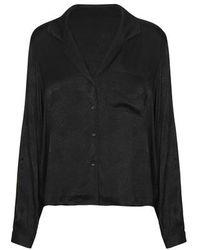 Anine Bing Lilah Shirt - Black