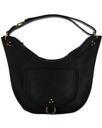 Jérôme Dreyfuss Edgar Medium Handbag - Black
