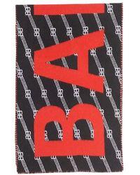 Balenciaga Bb Scarf - Red