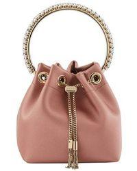 Jimmy Choo Bon Bon Bracelet Bag - Pink