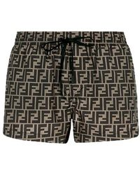 Fendi Fabric Shorts - Multicolor