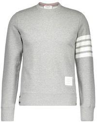 Thom Browne - Striped 4 Bar Sweatshirt - Lyst