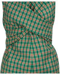 Dries Van Noten Wrap Top - Green