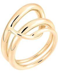 Charlotte Chesnais Looping Ring - Metallic