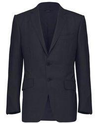Tom Ford Karierter Anzug aus Seide - Mehrfarbig