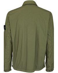 Stone Island Jackenhemd - Grün