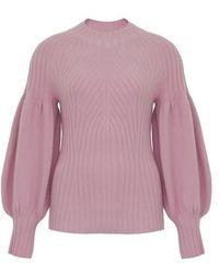 Zimmermann Concert Sweater - Pink