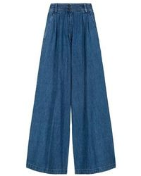 Vanessa Bruno Nagia Pants - Blue