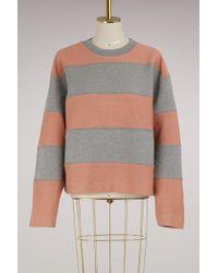 Acne Studios - Cotton Diana Sweatshirt - Lyst