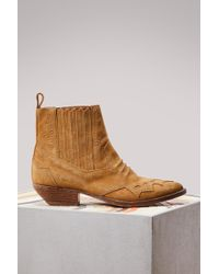 Roseanna - Suede Tucson Ankle Boots - Lyst