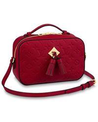 Louis Vuitton Saintonge - Rot