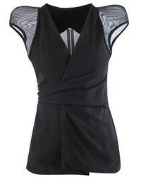 Rick Owens Wrap Jacket - Black